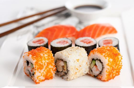 Суши - вкусно и быстро