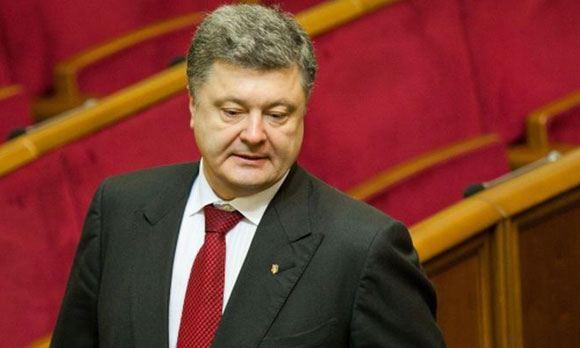 Президент Украины прибыл в лагерь Нацгвардии под Славянском