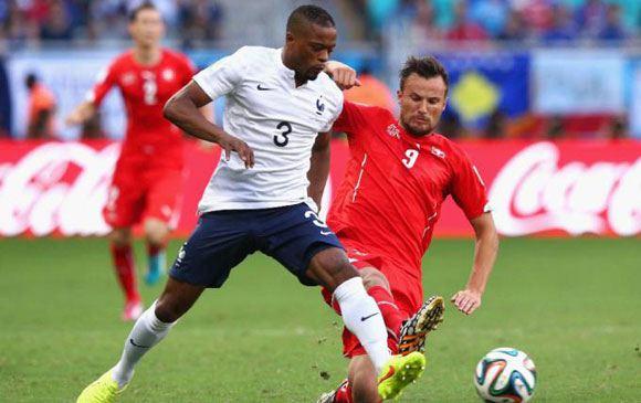 Швейцария уступила Франции на ЧМ в Бразилии