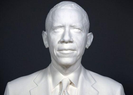 3D-бюст Барака Обамы распечатали в американском институте