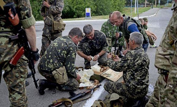 В Луганской области продолжаются артиллерийские обстрелы
