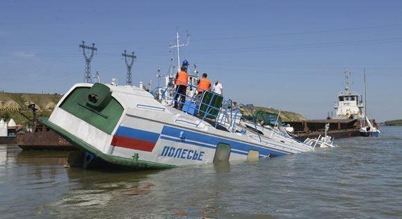 Осужден капитан теплохода «Полесье», из-за которого погибли шесть пассажиров