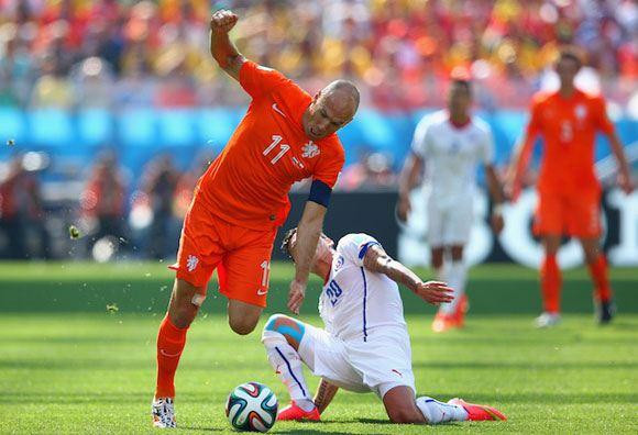 Нидерланды обыграли Чили на чемпионате мира