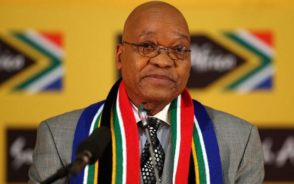 На онлайн-аукционе попытались продать президента ЮАР