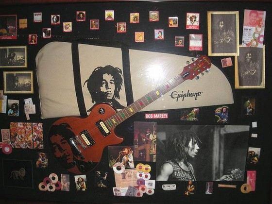 Гитара Боба Марли была продана за баснословные деньги