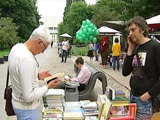 В столице стартовал проект «Книги в парках»