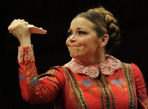 Irina Pegova - modern actress of small stature