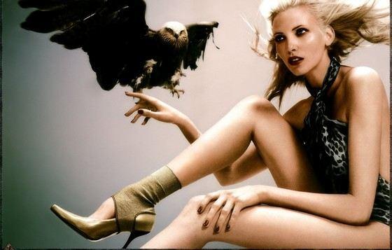 Надя Ауэрман актриса с самыми длинными ногами