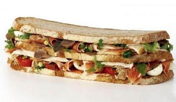 «Платиновый клубный сэндвич фон Эссен» дорогой из-за элитных ингридиентов