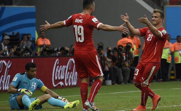 Голы Джердана Шакири принесли Швейцарии победу над Гондурасом