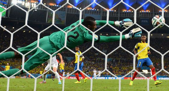 Франция и Эквадор не забили друг другу голов