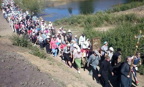 В Курганской области мост рухнул вместе с сотней участников крестного хода