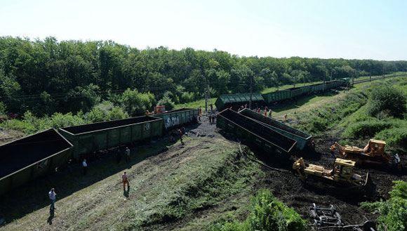 На железной дороге в Донецкой области произошло два взрыва