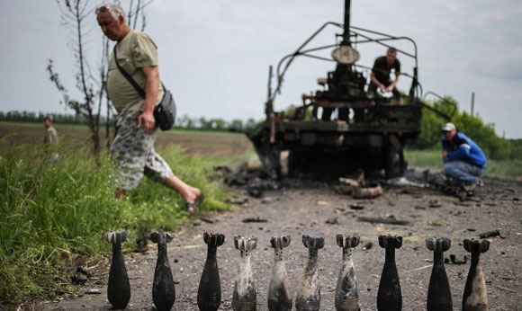 Украинские снаряды попали на приграничную российскую территорию