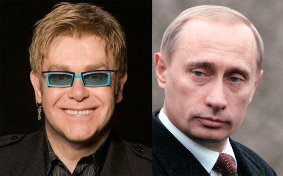 Элтон Джон приедет к Путину обсудить права геев