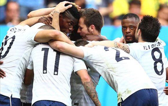Франция вышла в четвертьфинал чемпионата мира