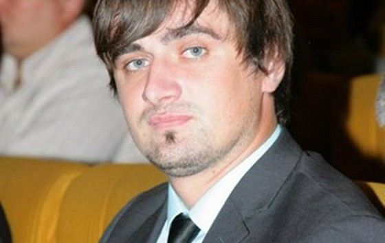 Молодой украинский политик Юлий Бойко