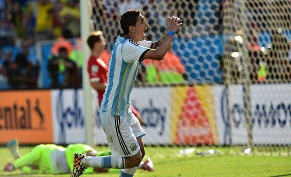 Анхель Ди Мария принес Аргентине победу над Швейцарией
