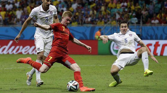 Бельгия со счетом 2:1 обыграла США на ЧМ