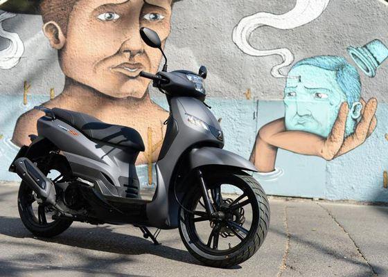 Новый скутер Tweet Evo от компании Peugeot
