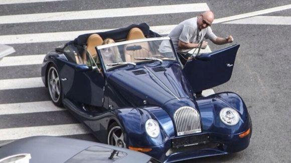 Гоша Куценко столкнулся на своем кабриолете с «Инфинити»