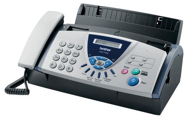 Факс уйдет следом