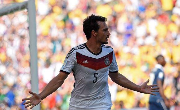 Немцы выбили французов из четвертьфинала чемпионата мира