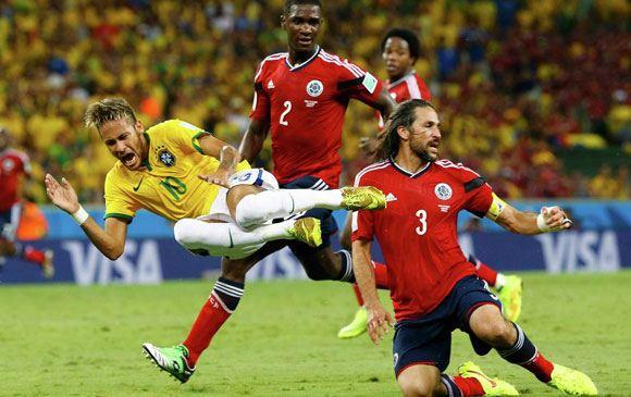 Бразилия обыграла Колумбию на ЧМ