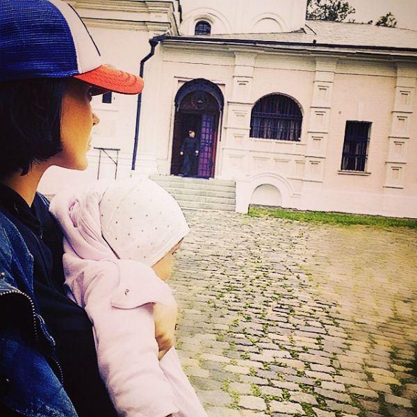 Таня Терешина и Слава Никитин окрестили дочь