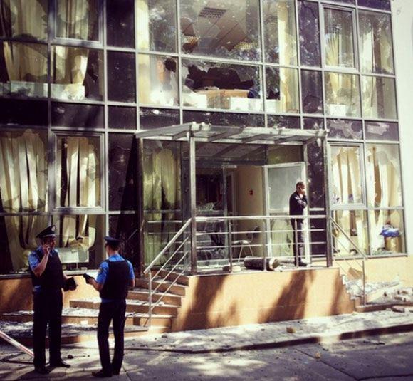 В Киеве совершено нападение на редакцию газеты «Вести»