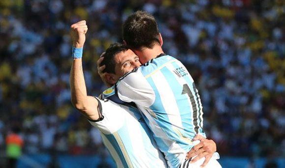Сборная Аргентины сумела пройти в полуфинал ЧМ