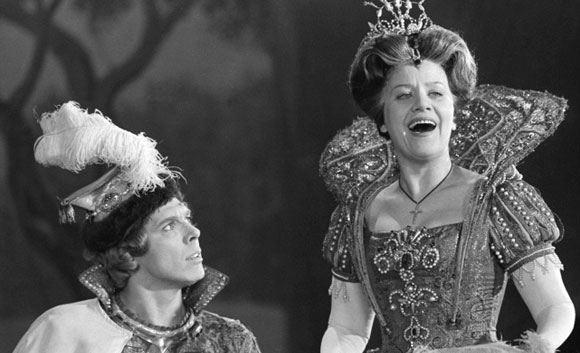 Знаменитая оперная певица Елена Образцова отмечает юбилей