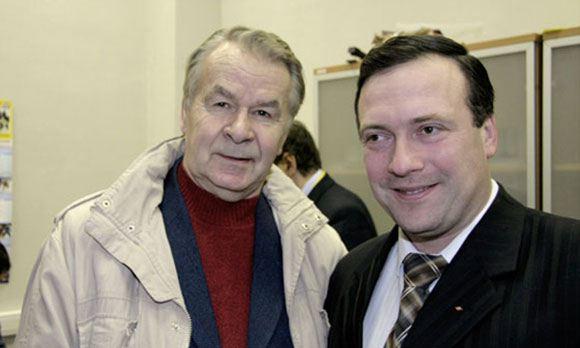 Скончался легендарный диктор «Лужников» Валентин Валентинов