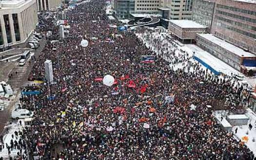Совет Федерации усложнил жизнь организаторам митингов