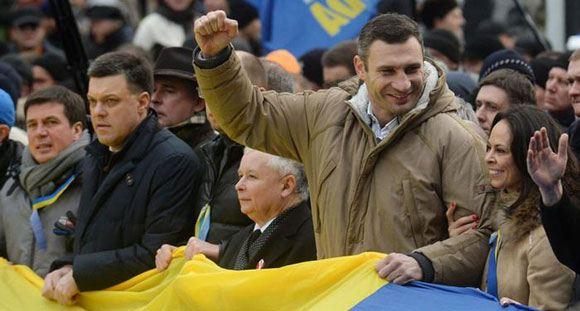 Виталий Кличко: «Силовой разгон Майдана, я уверен, может быть только крайним шагом»