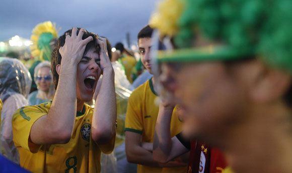 Британский болельщик выиграл 46 тысяч долларов, предсказав победу Германии над Бразилией