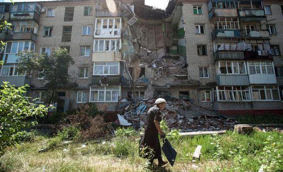 Три коридора для эвакуации населения организованы на востоке Украины