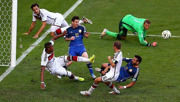 Сборная Германии выиграла чемпионат мира в Бразилии