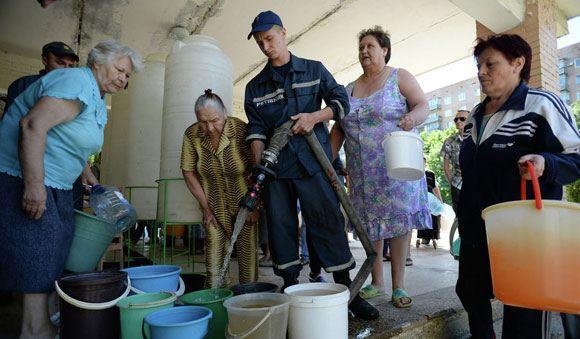 «Вода Донбасса» приостановила водоснабжение семи населенных пунктов Донецкой области