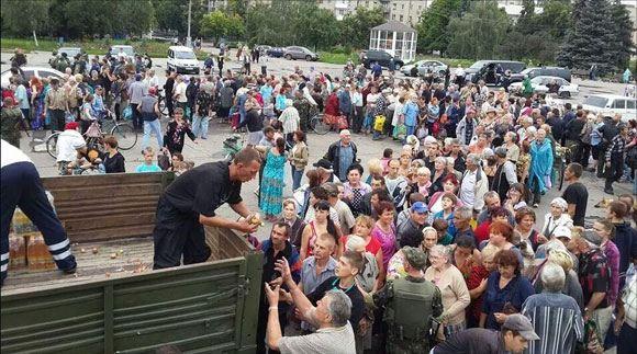 Посольство США в Киеве выделило 50 тысяч долларов на помощь жителям Донбасса