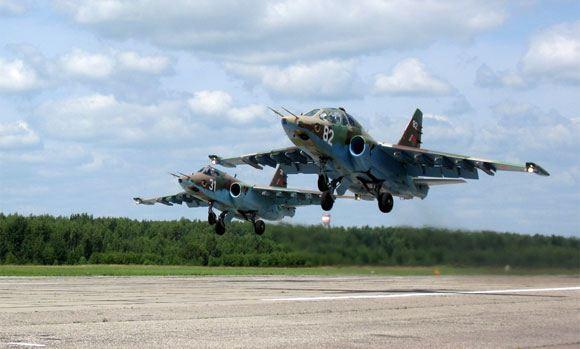 Украина обвинила Россию в уничтожении Су-25