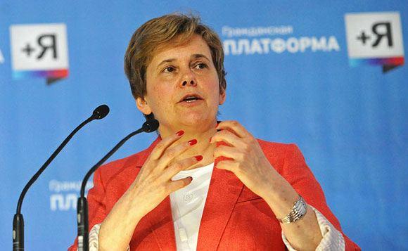 Ирина Прохорова намерена выйти из Федерального гражданского комитета из-за Крыма