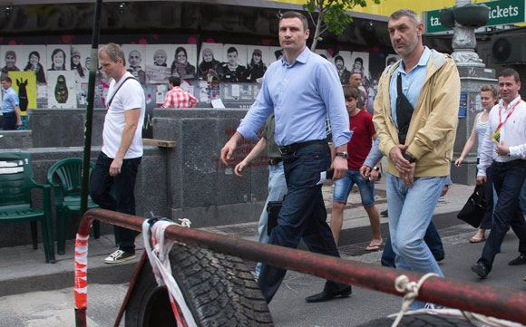 Кличко снова выступил с критикой Майдана