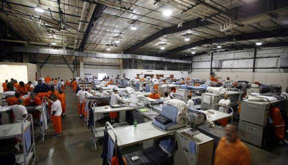 В Техасе обрушилась крыша частной тюрьмы