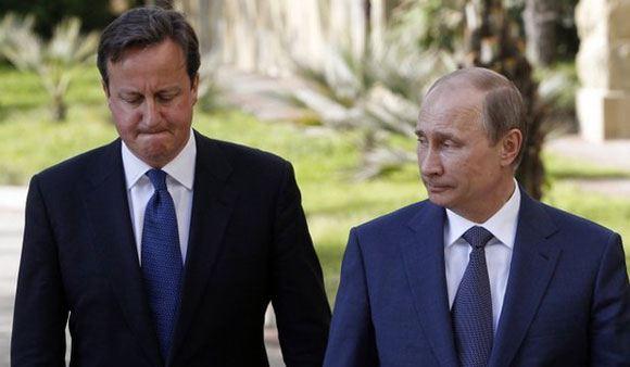 Путин обсудил катастрофу на Украине с премьером Великобритании