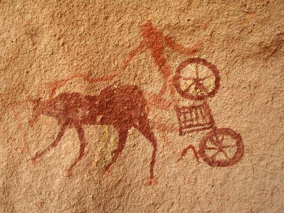 Изобретение колеса изменило весь мир