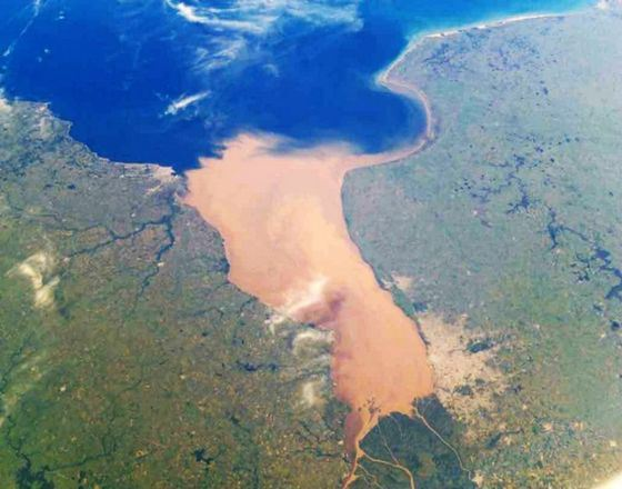 Самая широкая река в мире находится в Южной Америке