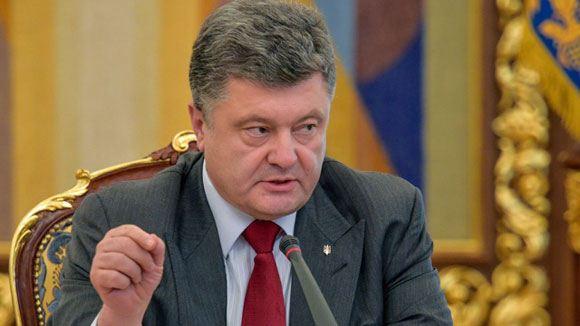 Рада рассмотрит указ Порошенко о частичной мобилизации