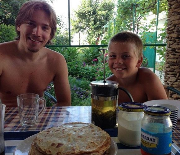 Алена Свиридова показала обоих сыновей