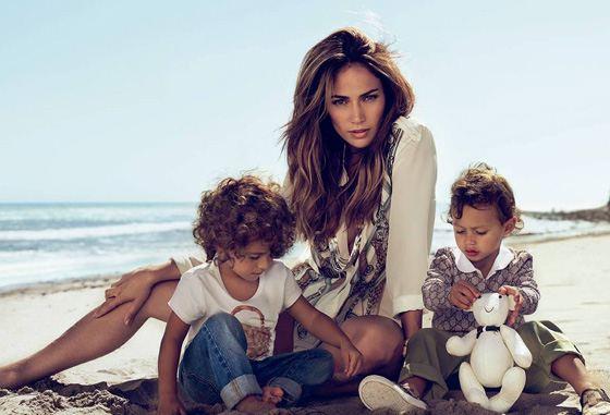 лопес дженнифер и ее дети фото